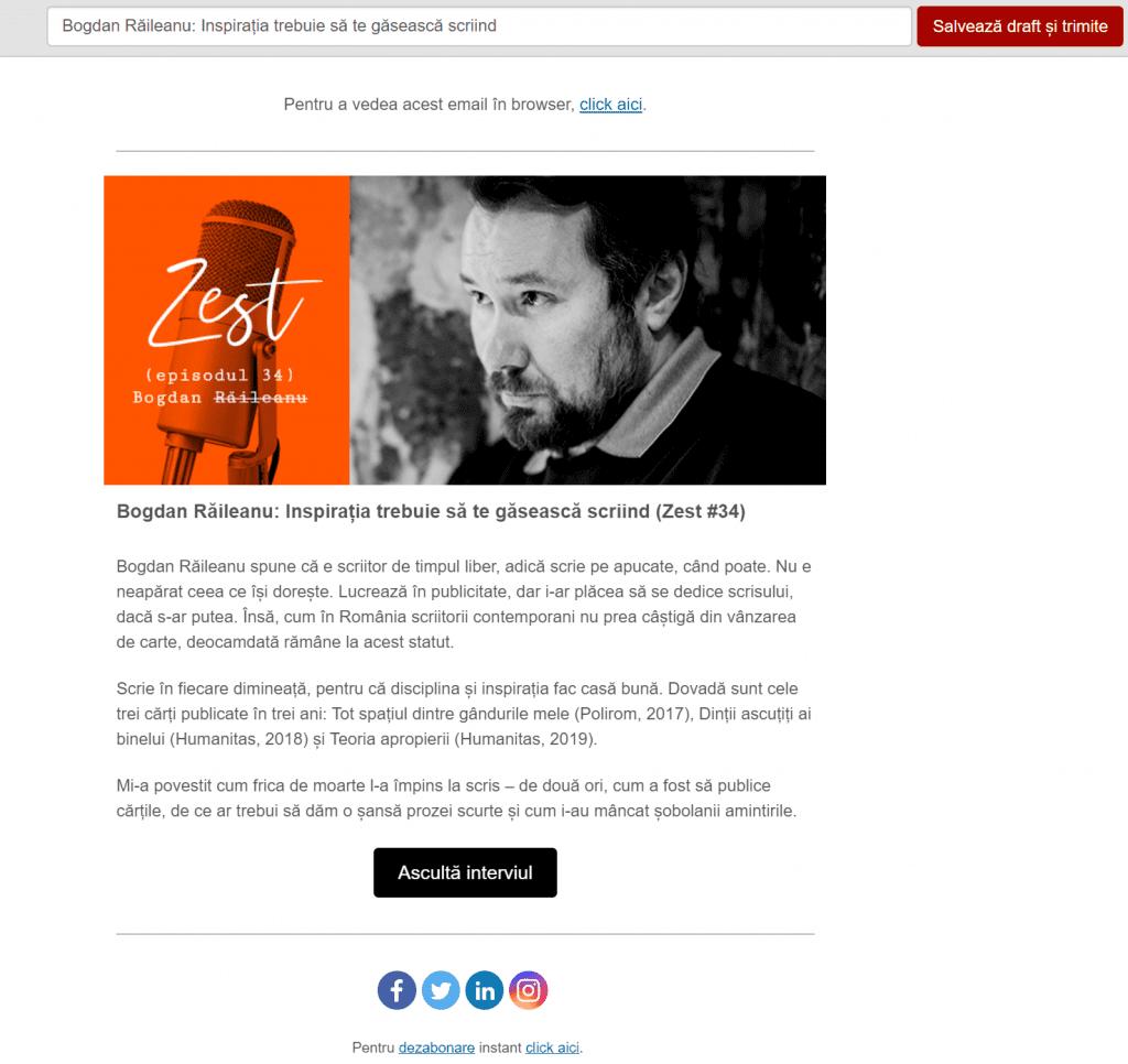 editor newsletter