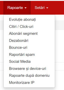 raport email marketing